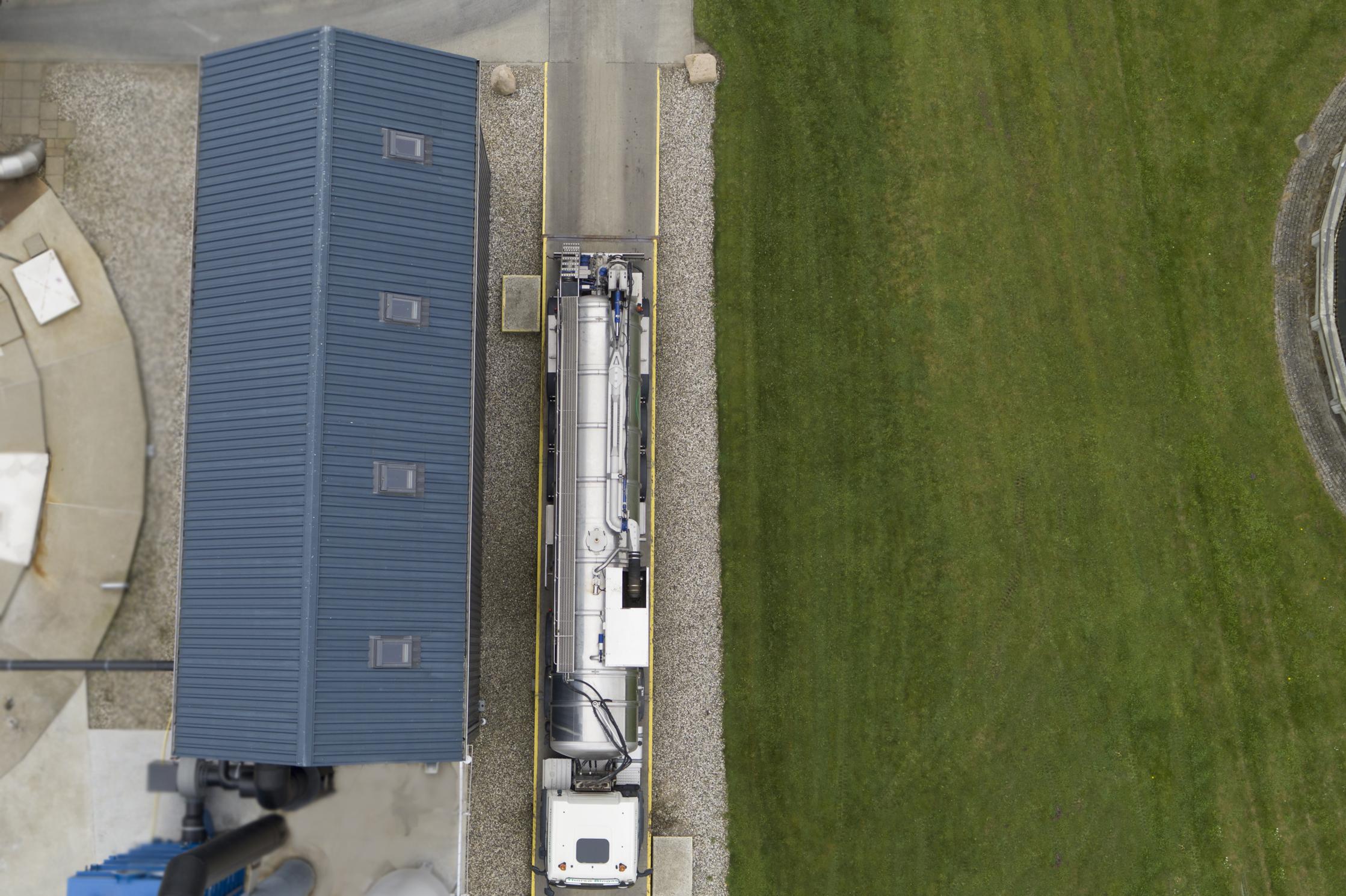 Transport biogas